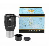 "Explore Scientific Fokal Extender 2x 31.7mm/1.25"""