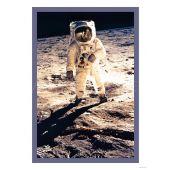 Poster Apollo 11 Astronaut pe Lună 40x60cm