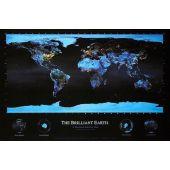 Poster Hartă Pământ 60x90cm