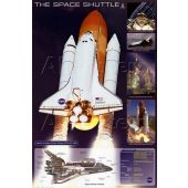 Poster Space Shuttle 60x90cm