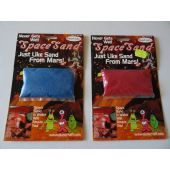 Space sand small (red, blue)
